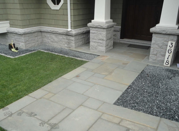 gatton-masonry-granite-pillars-bluestone-walkway